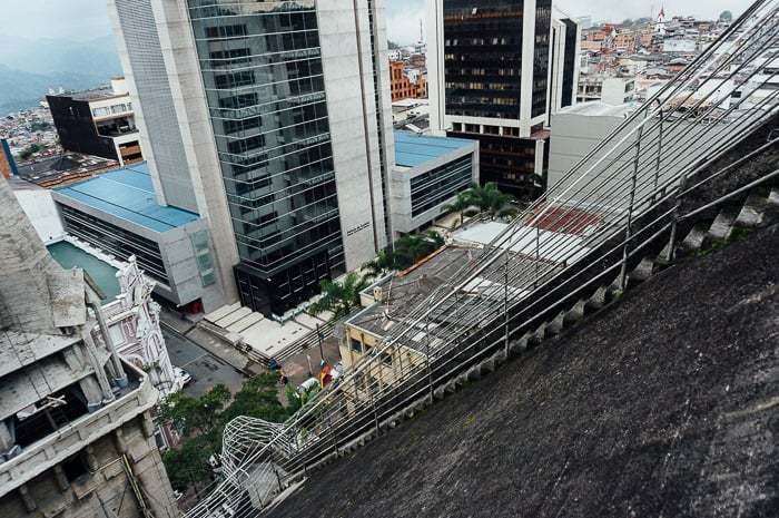 Looking down the roof - Things to Do in Manizales Colombia