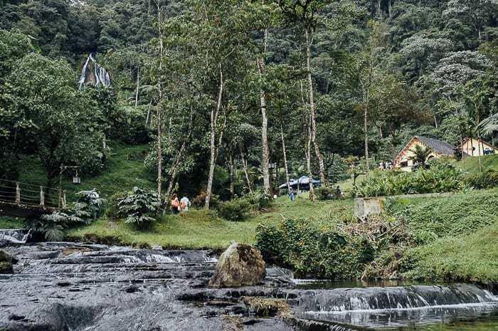 Enjoying the Hot Springs of Santa Rosa de Cabal, Colombia