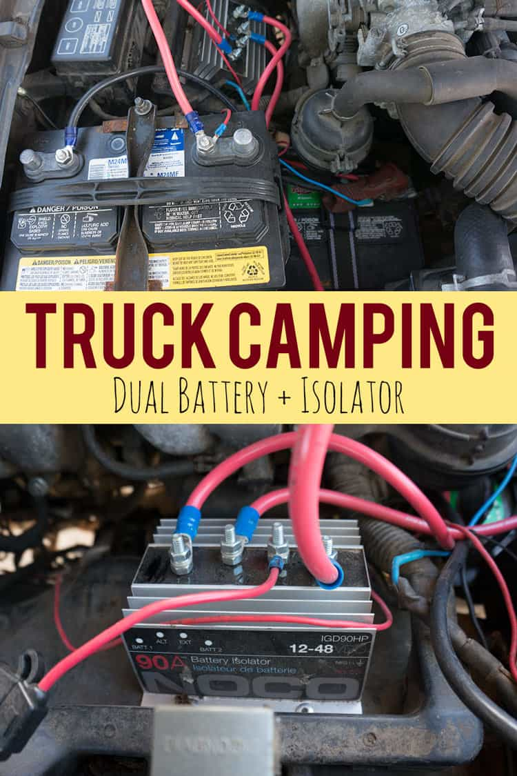 Adding A Dual Battery Setup For Truck Camping Vanlife Or Other Rigs 86 Chevy Suburban Gas Tank Wiring Getting And Isolator Is One Of The Best Things You Can Do