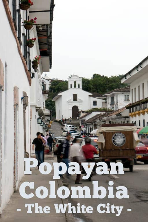 Cobblestone streets and whitewashed buildings, Popayan, Colombia was an unexpected surprise... Check out these things to do in Popayan Colombia and start planning your next trip