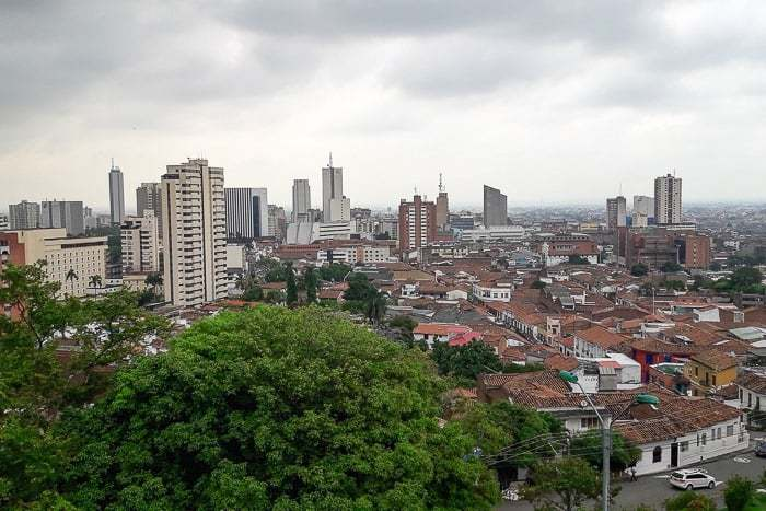 The view from San Antonio - Awesome things to do in Cali Colombia