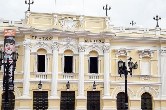 The Teatro Municipal - Awesome things to do in Cali Colombia