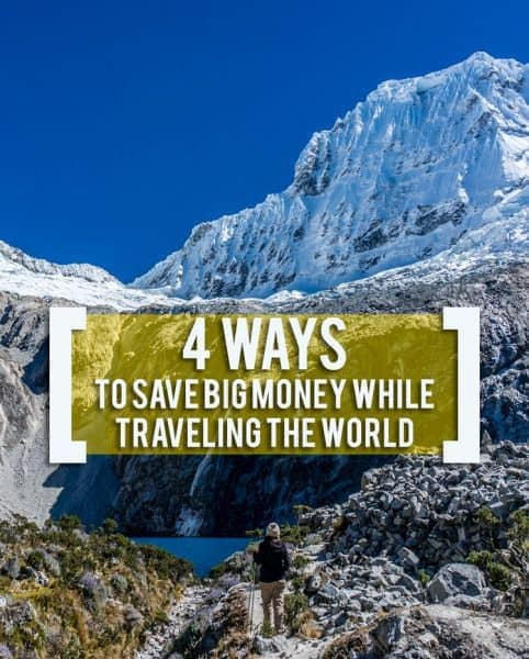 Taking the trip of your dreams doesn't have to be expensive -- here are four ways to save BIG money while traveling