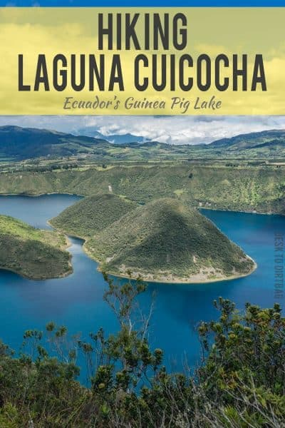 If you're looking for a little fresh air or adventure while you are visiting Otavalo, Ecuador, then look no further than Laguna Cuicocha. This little day hike is probably one of Ecuador's best kept secrets...