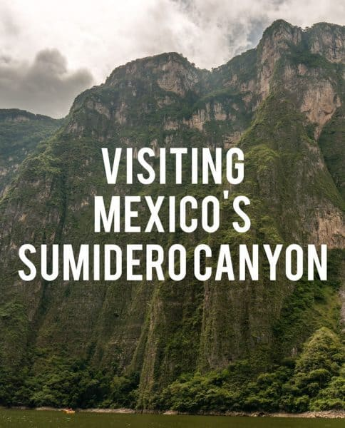 Mexico is full of natural wonders for the nature lover, and Sumidero Canyon in Chiapas is no exception!
