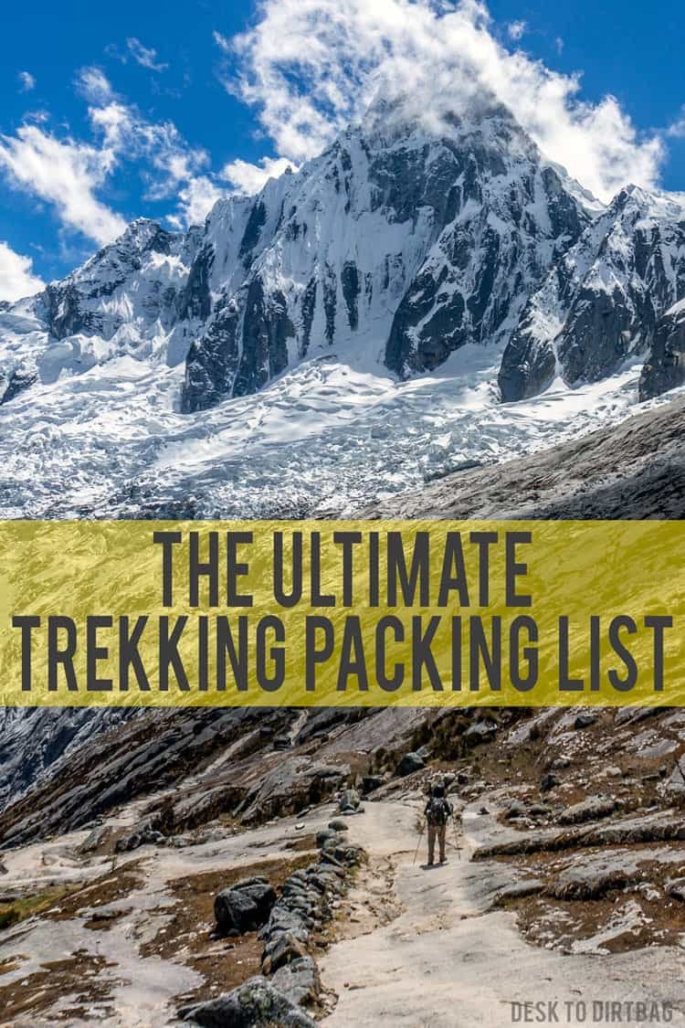 Going on a multi-day hike or trek? Here's what you need to pack, specific gear recommendations, and a one-page packing checklist...