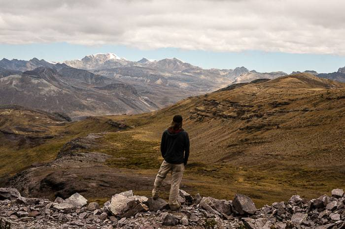 Look at those views in Peru! Trekking Packing List