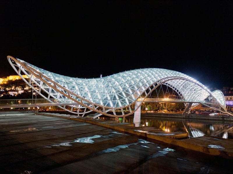 Bridge of Peace - Tbilisi