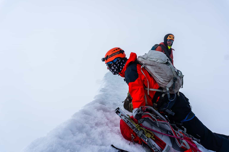 Summit of Yanapaccha, Peru