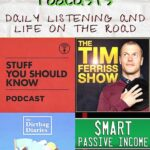 My Favorite Podcasts for Daily Listening and Life on the Road travel, road-trip, location-independence, armchair-alpinist