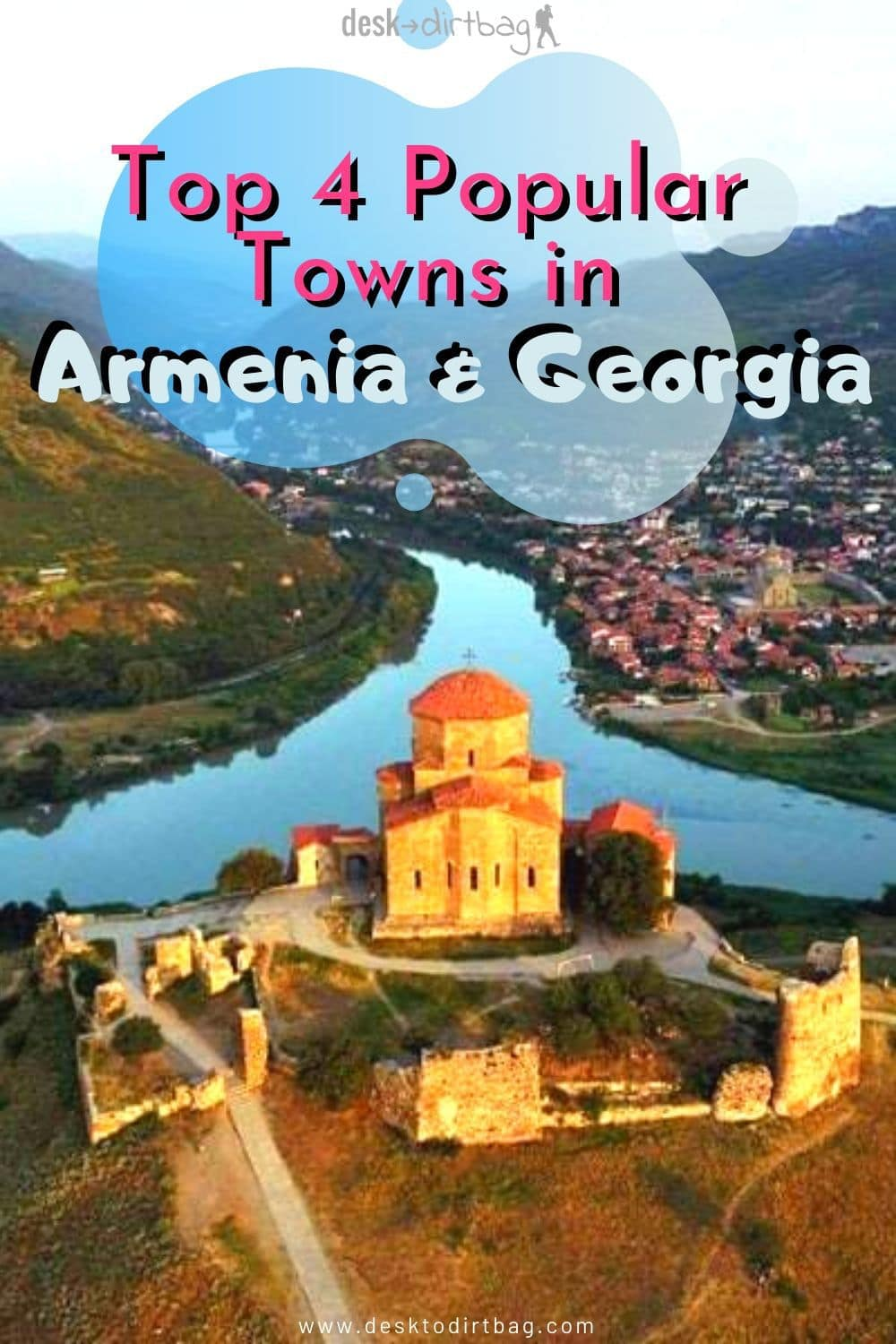 Top 4 Popular Towns in Armenia and Georgia travel