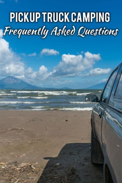 Answering all your questions about the world of pickup truck camping...