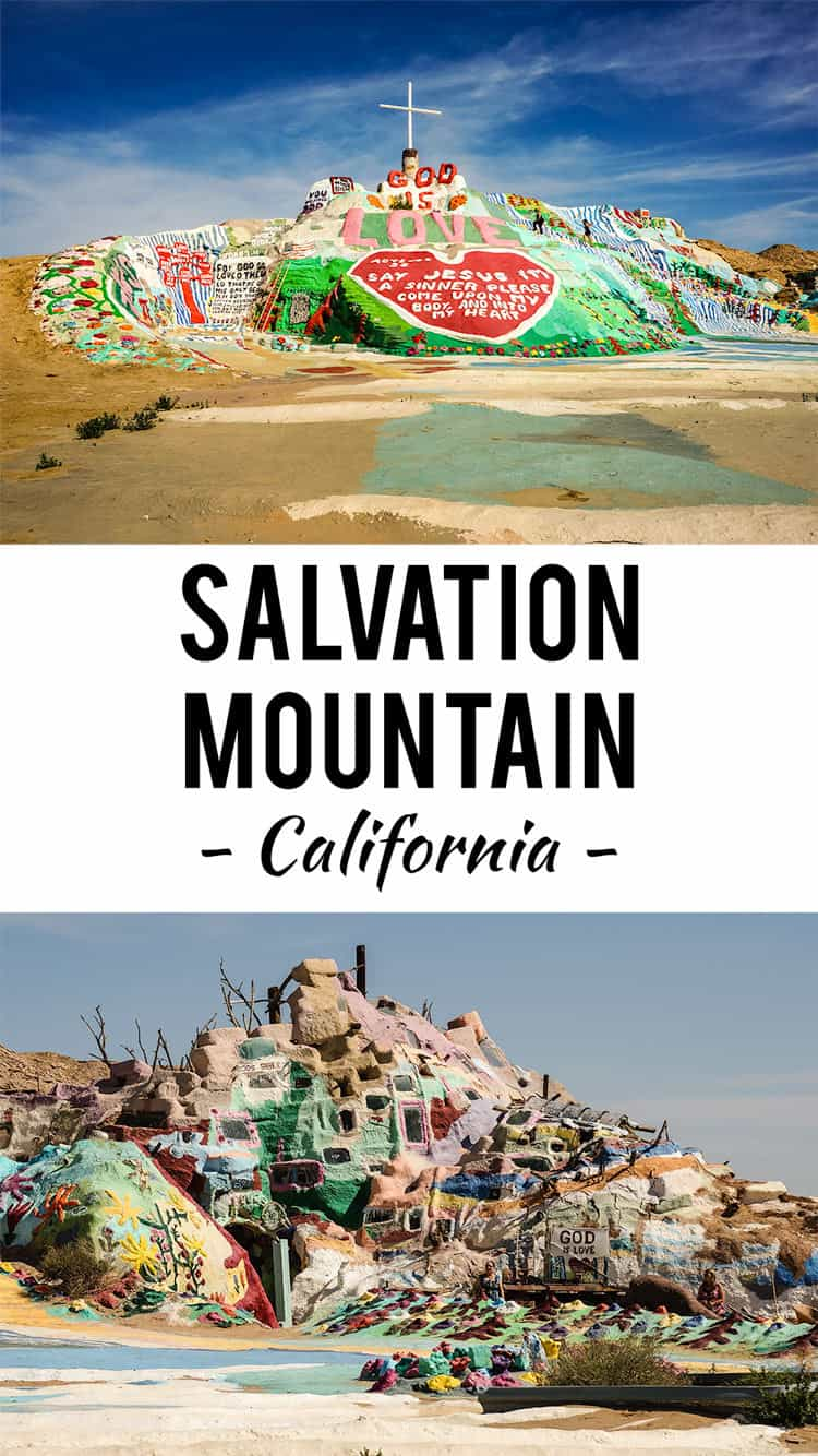 You gotta visit this strange road side attraction known as Salvation Mountain near Niland, California