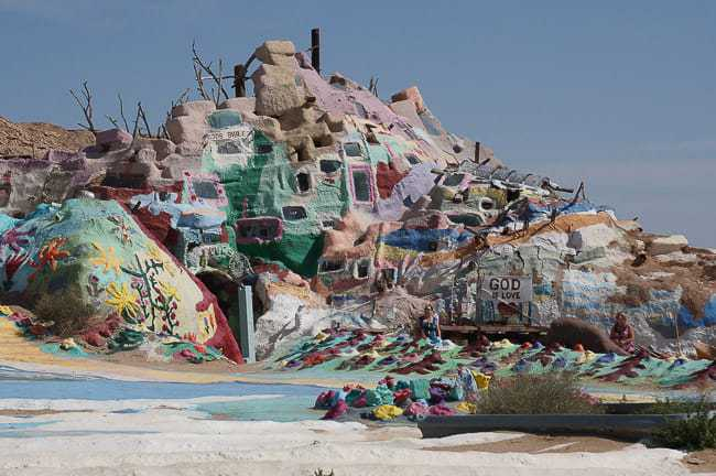 Visiting Salvation Mountain and Slab City in California