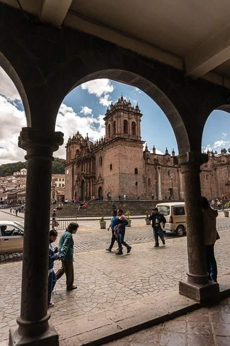 Plaza central en Cusco - que hacer en Cusco