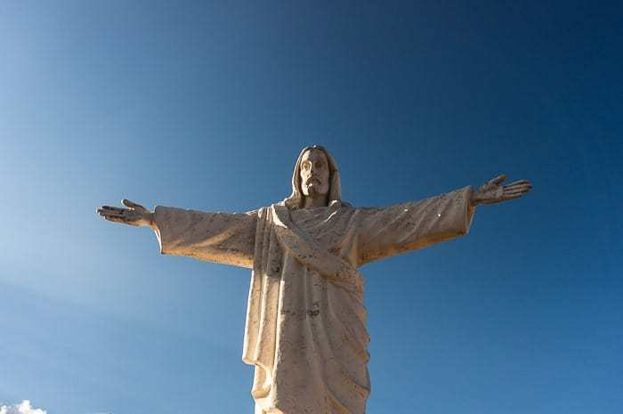 Cristo Blanco - que hacer en Cusco