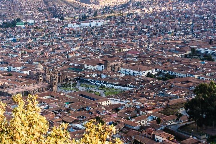 Vista panorámica - que hacer en Cusco