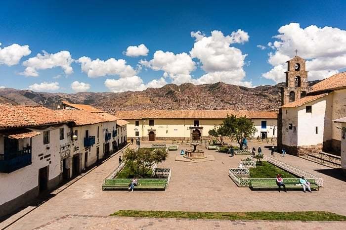 Plaza antigua - que hacer en Cusco
