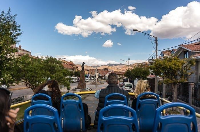 Bus turístico - que hacer en Cusco