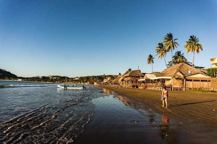 Playa Nicaragua - países de Centroamérica
