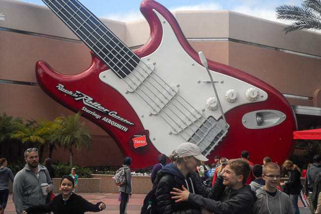 Aerosmith Rock'n Roller Coaster - Places to Visit in Orlando Florida