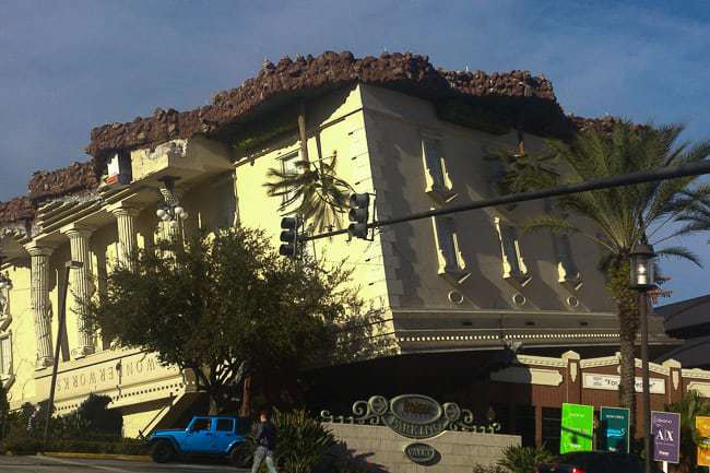 Upside Down House - Places to See in Orlando Florida