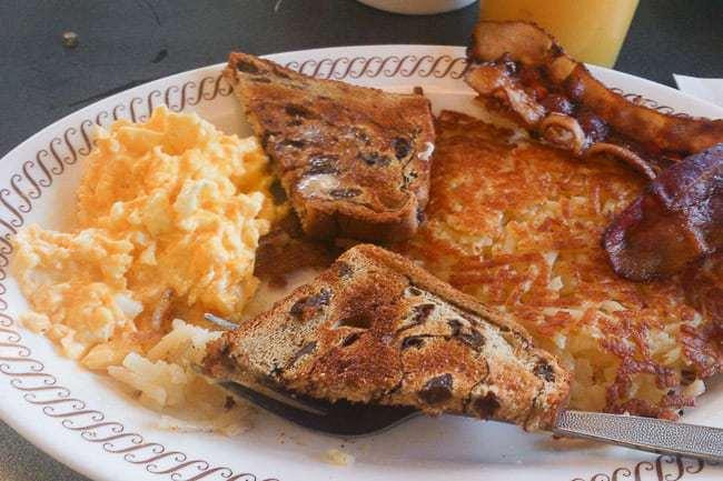 Desayuno típico - viajar a Orlando