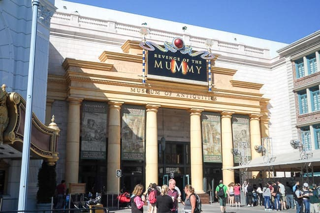 Revenge of the Mummy at Universal - Places to Visit in Orlando Florida