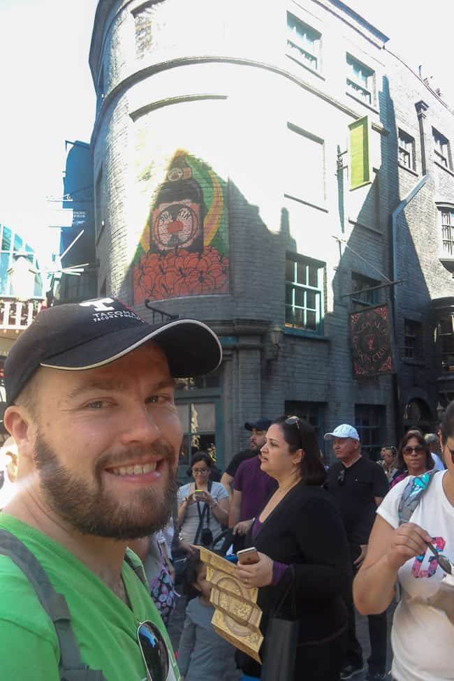 Me at Universal - Places to Visit in Orlando Florida