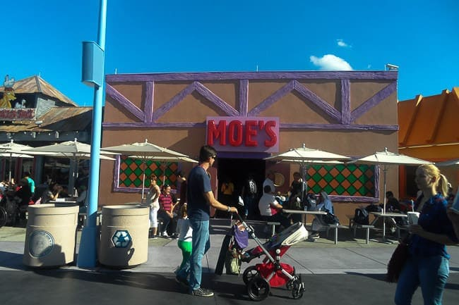 Moe's Tavern from the Simpsons - Places to See in Orlando Florida