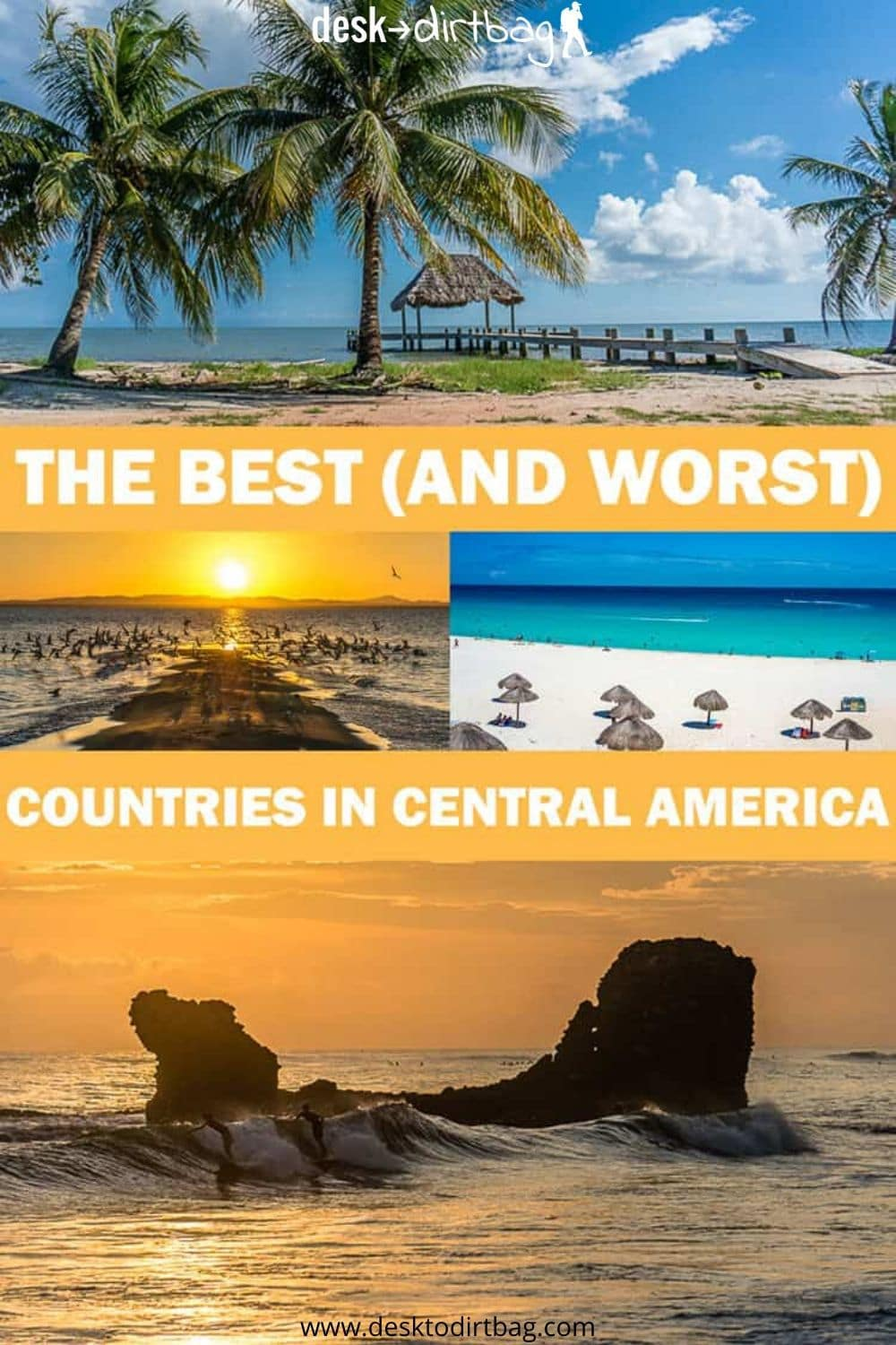 Ranking the Best Countries to Visit in Central America for Travelers travel, mexico, central-america