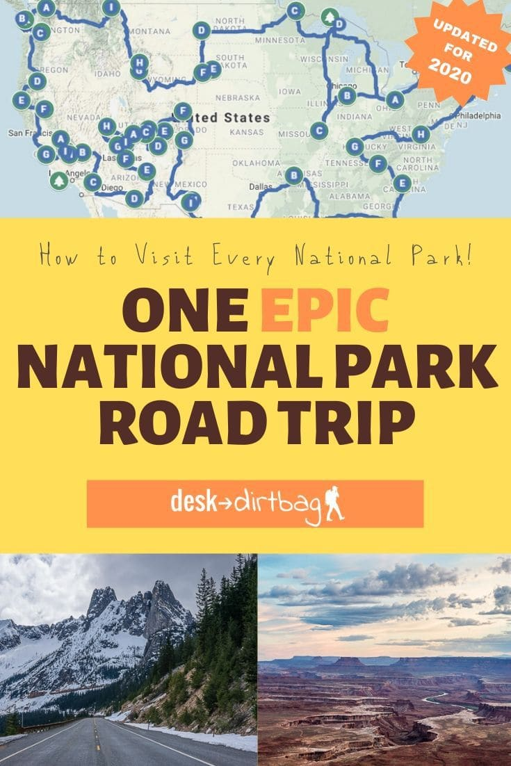 One Epic National Park Road Trip Across the USA
