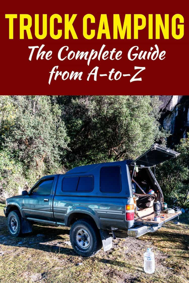 Every thought about turning your truck into the ultimate adventure mobile? Here's everything you need to know to create your new home on wheels... Welcome to the ultimate truck camping guide.