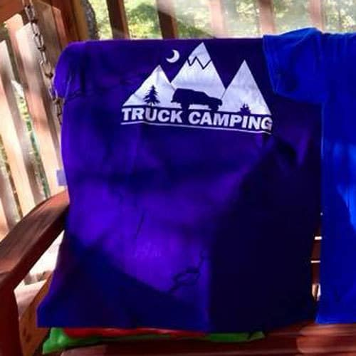 Truck Camping Night Landscape Shirt