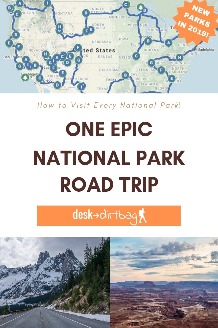 Your Guide to the Ultimate National Park Road Trip