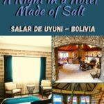 A Night in a Hotel Made of Salt - Luna Salada Salt Hotel Bolivia bolivia