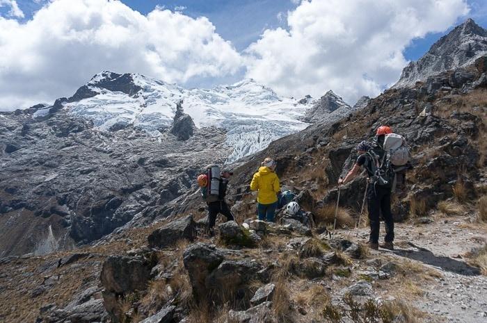 Climbing Yanapaccha Peru Cordillera Blanca