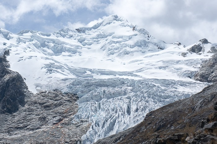 Mountain Climbing in Peru - Yanapaccha in the Cordillera Blanca