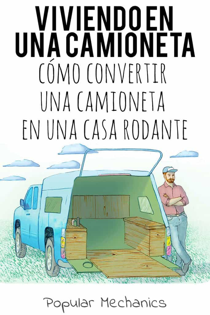 Cómo convertir una camioneta en una casa rodante espanol-es, camping-en-camioneta