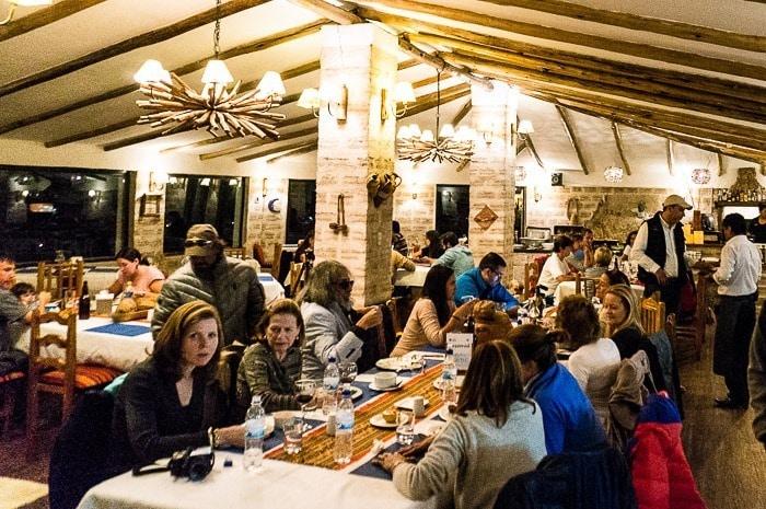 Salón comedor - hotel de sal Luna Salada