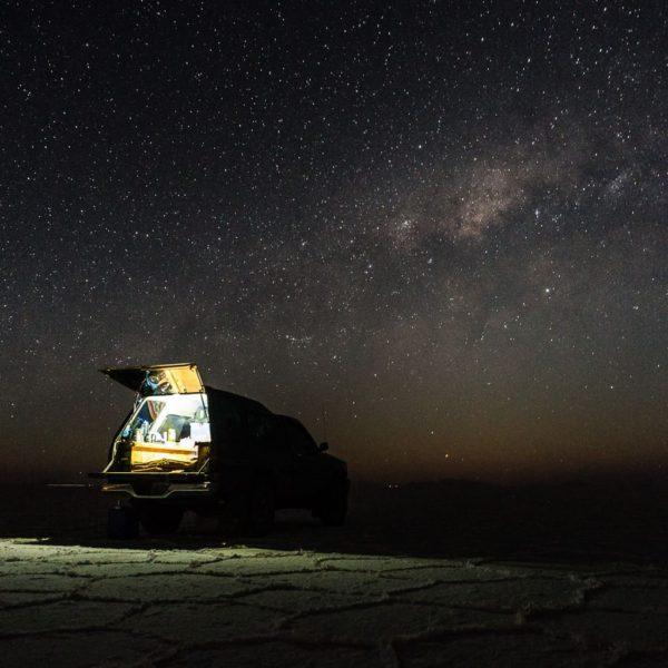 Salar de Uyuni Truck Camping