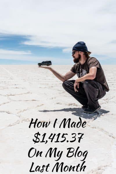 November 2017 Income Report
