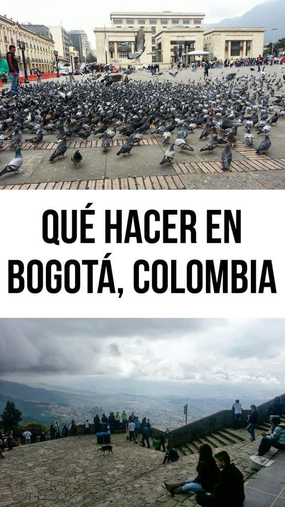 19 cosas para hacer en Bogotá