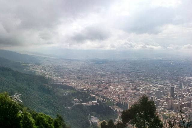 The sprawling metropolis of Bogota - Guide to Traveling to Colombia