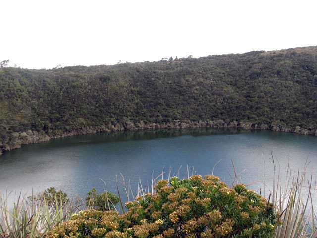 Laguna Guatavita, one of the best day trips from Bogota