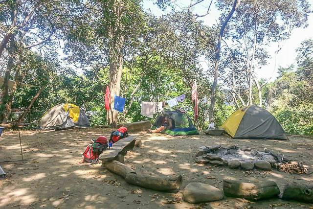 Tent camping in Minca - Things to do in Santa Marta Colombia