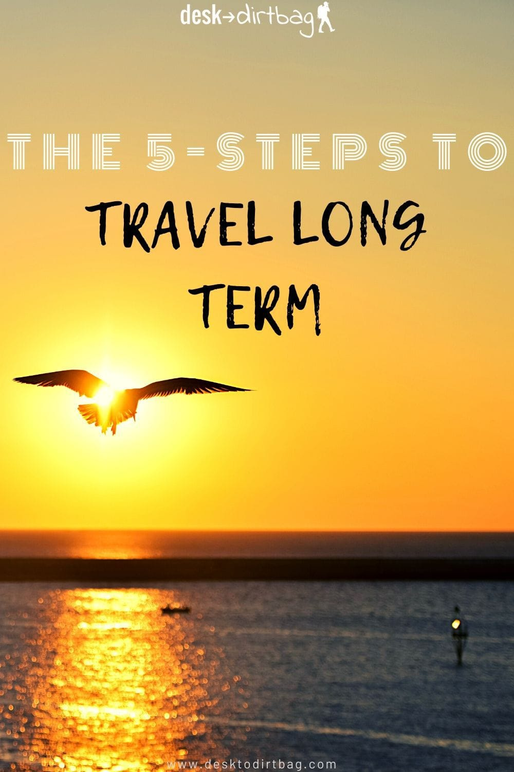 A Simple 5-Step Secret Formula to Quit Your Job to Travel Long-Term travel, location-independence, budget-and-finance