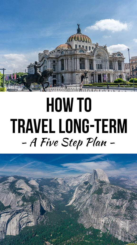 A Five-Step Plan to Travel Long-Term