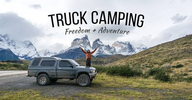 truck camping videos
