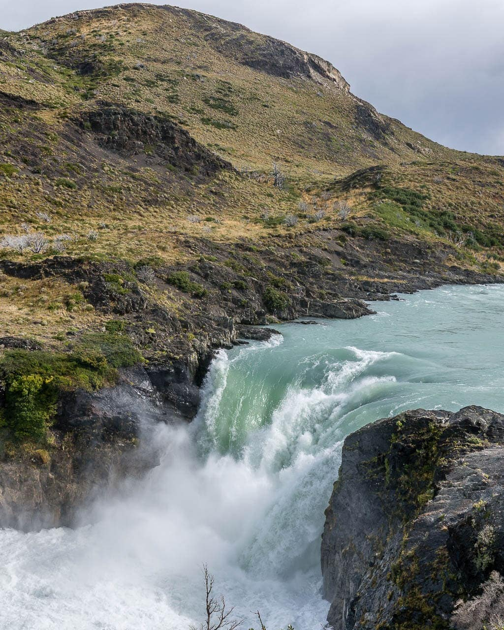 Salto Grande in Torres del Paine National Park, Chile
